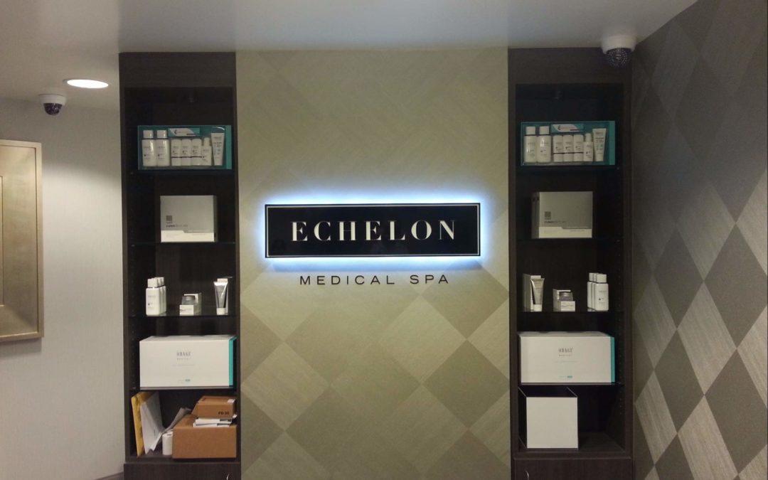 Interior Sign For Echelon Medical Spa