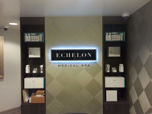 Interior Sign For Echelon Medical Spa