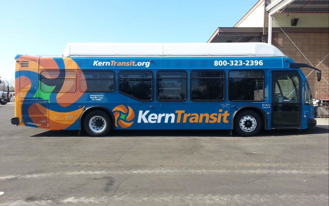 Fleet Graphics For Kern Transit