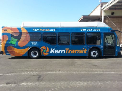 Fleet Graphics For Kern Transit