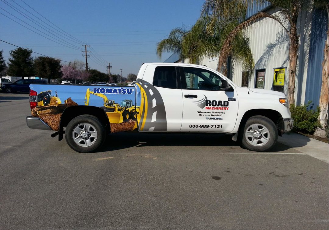 Fleet Graphics For Road Machinery