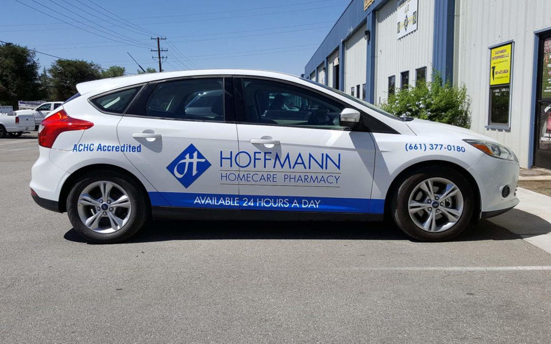 Fleet Graphics For Hoffmann Homecare Pharmacy