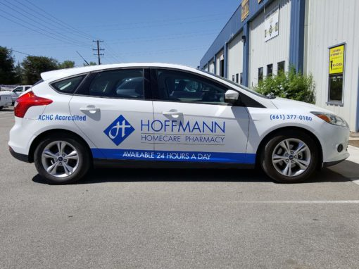 Fleet Graphics For Hoffmann Homecare Pharmacy