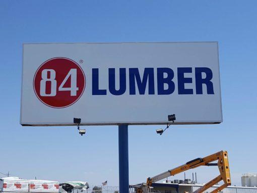 Pylon Sign For 84 Lumber