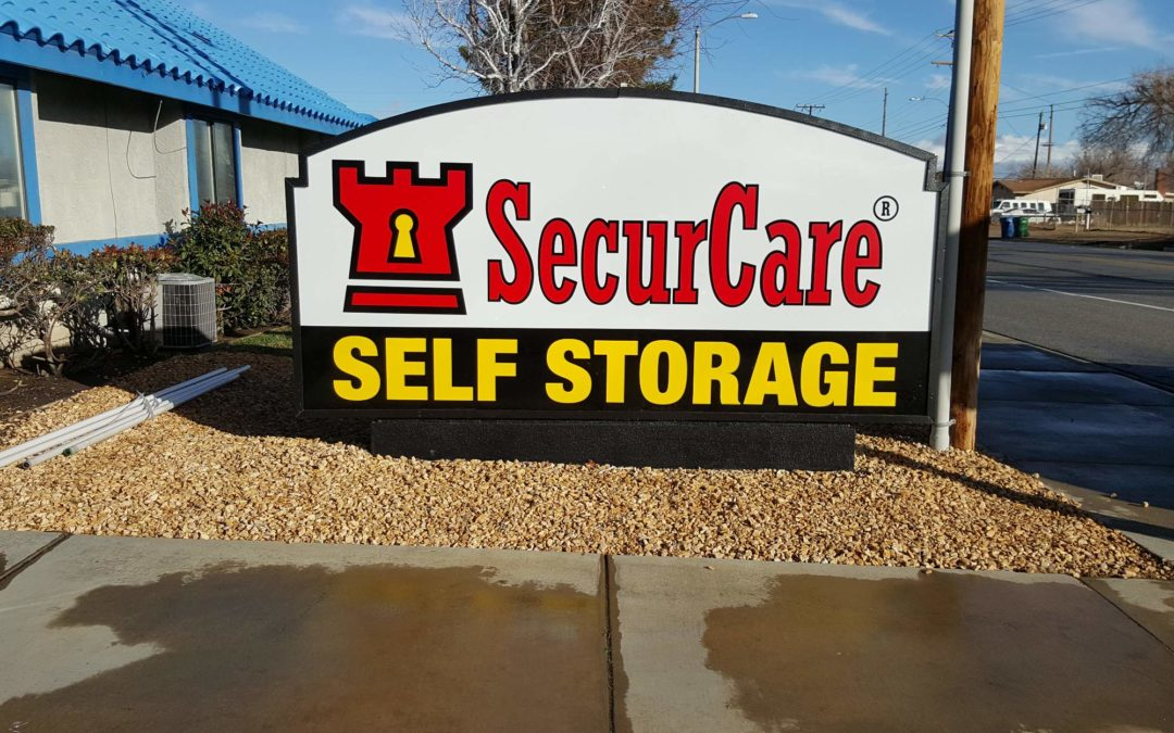 Monument Sign For SecurCare Self Storage