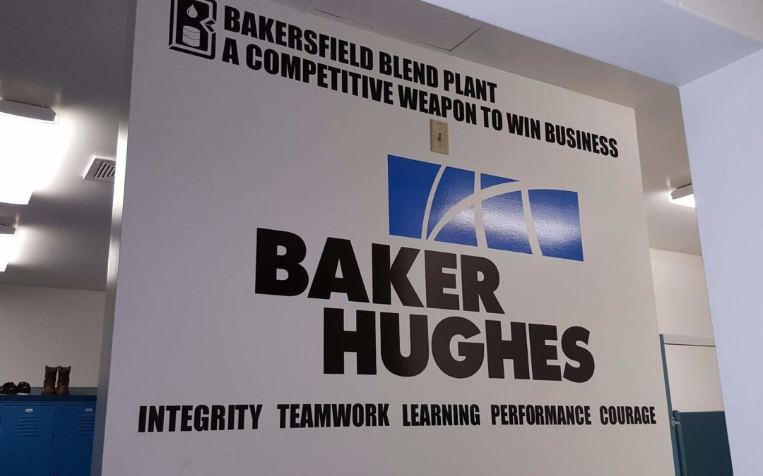 Industrial Decals For Baker Hughes