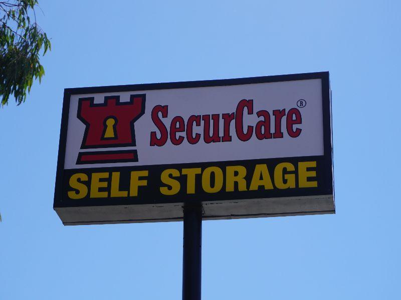 Pylon Sign For Securcare Self Storage Advanced Sign