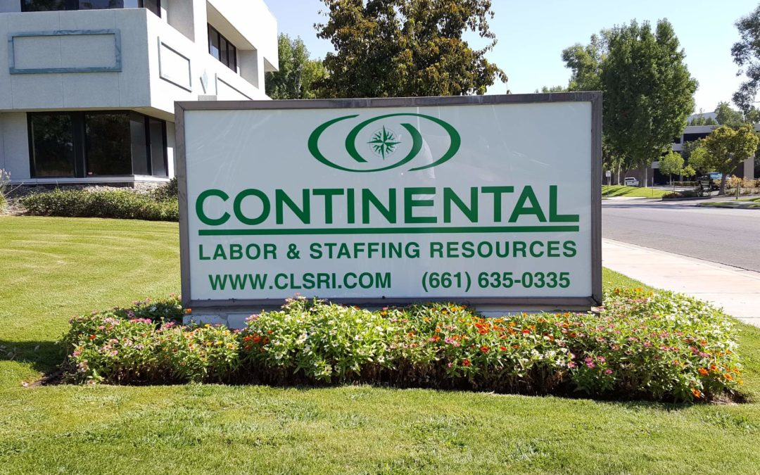 Continental Labor Amp Staffing Resour Es Archives Advanced Sign Contractors Bakersfield Ca