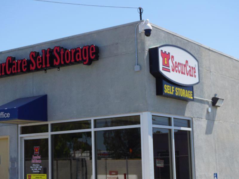 Rebranding For Securcare Self Storage Advanced Sign